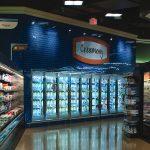 Supermarket Dairy Case